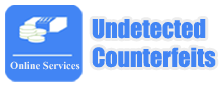Undetected Counterfeits Logo